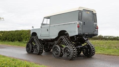 Cuthbertson Land Rover de 1958