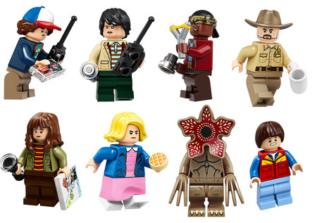 Lego Stranger Things Figuras