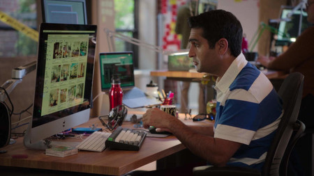 Apple Imac Used By Kumail Nanjiani Dinesh In Silicon Valley 1