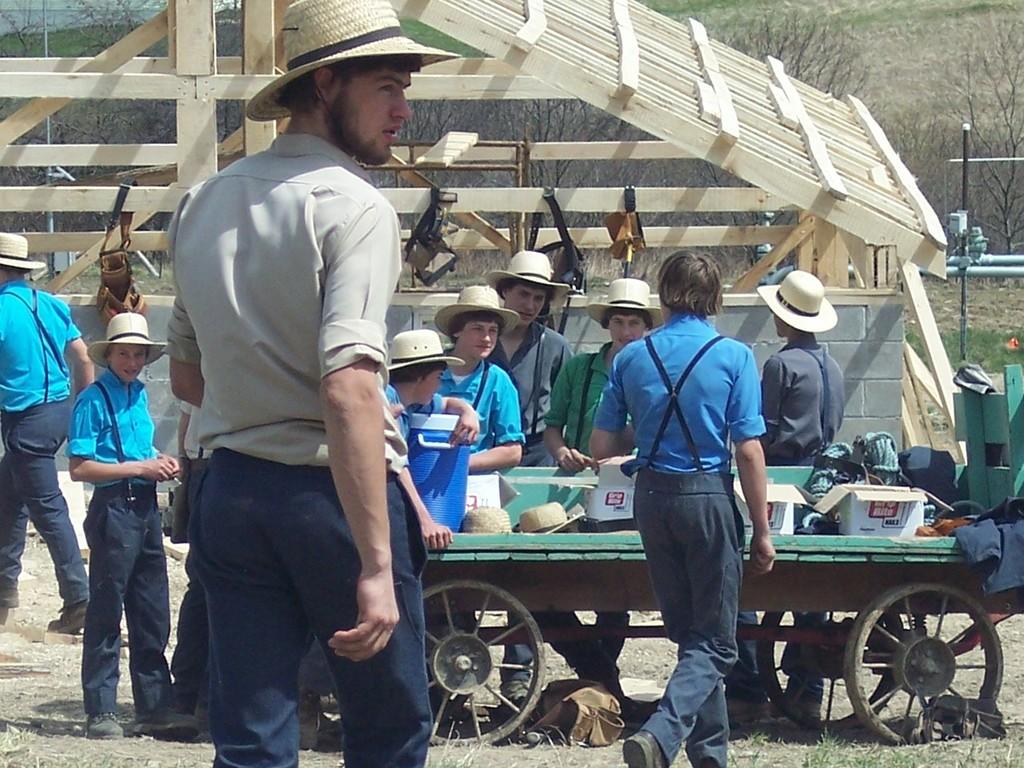Tecnología Amish: cómo es ser el