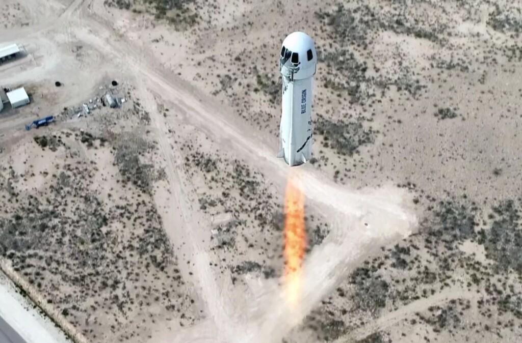 Cómo seguir en directo el histórico primer vuelo tripulado de Blue Origin con Jeff Bezos a bordo