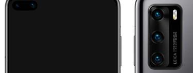 Estos serán los colores de los Huawei P40 y P40 Pro, según filtraciones