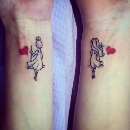 29 Tatuajes Que Podrás Hacerte Con Tu Mejor Amiga Porque La