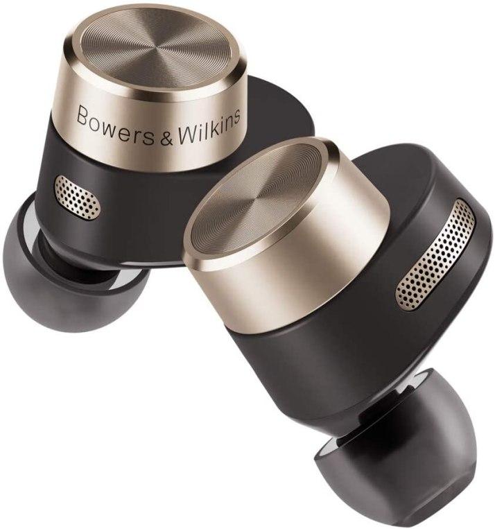 Auriculares Intraaurales True Wireless con Cancelación de Ruido y Conexión de Alta Resolución de 24 bits Bowers & Wilkins PI7 – Acabado Carbón