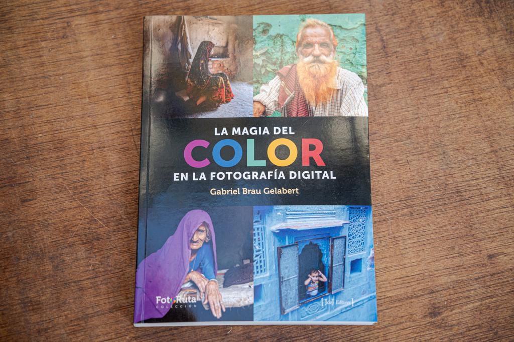 'La magia del color en la fotografía digital', el nuevo libro de Gabriel Brau en el que desvela las claves del color