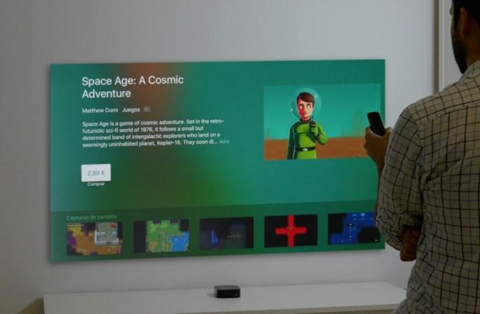 Interfaz Apple Tv
