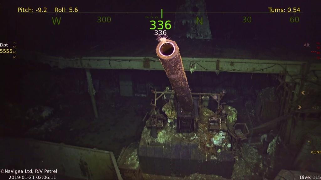 Permalink to Así es como un pequeño barco de 10 tripulantes, robots y drones autónomos encontró un portaaviones que se hundió hace 76 años