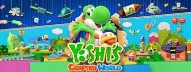Análisis de Yoshi's Crafted World: el juego que se grabará en la memoria de nuestros hijos (y la nuestra)