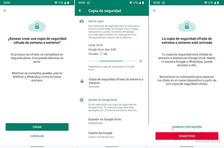 Whatsapp Encrypted Backup