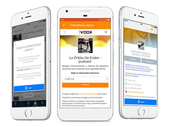 Permalink to IVoox quiere ser el Patreon de los podcasts en español que quieren cobrar