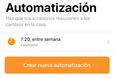 Homekit Automatizacion