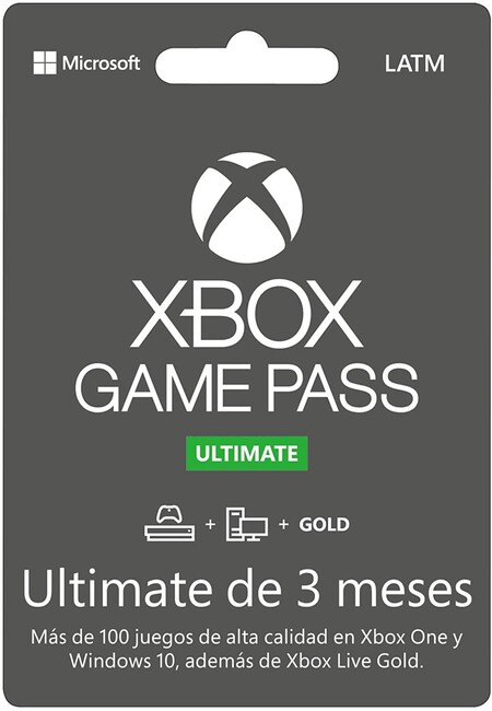 Tarjeta de Xbox Game Pass Ultimate en oferta en Amazon México