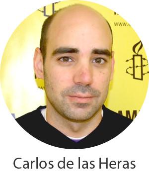 Carlos De Las Heras Amnistia Internacional