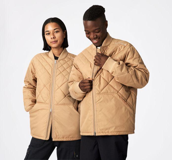 Utility Fleece Padded Jacket