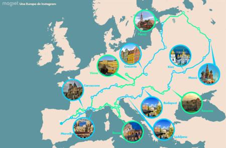 Una Europa de Instagram