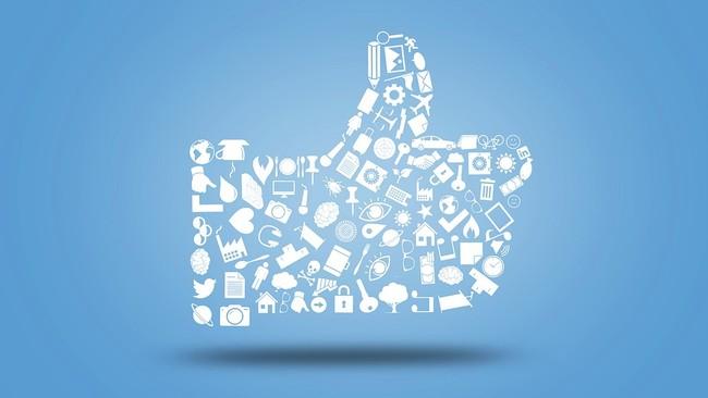 Thumb Badge Like Like Button Media Facebook® 3033202