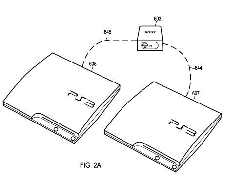 La nueva y alucinante patente de Sony... conectar dos PS3