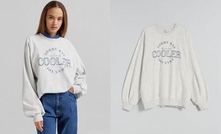 message sweatshirt
