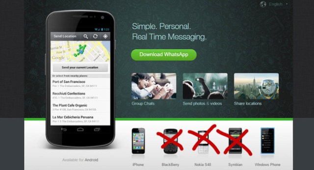 Cuenta atrás para los consumidores de BlackBerry OS y antiguos Nokias: el día treinta se quedarán sin WhatsApp