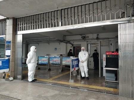 Check For 2019 Ncov In Jishuitan Metro Station Beijing