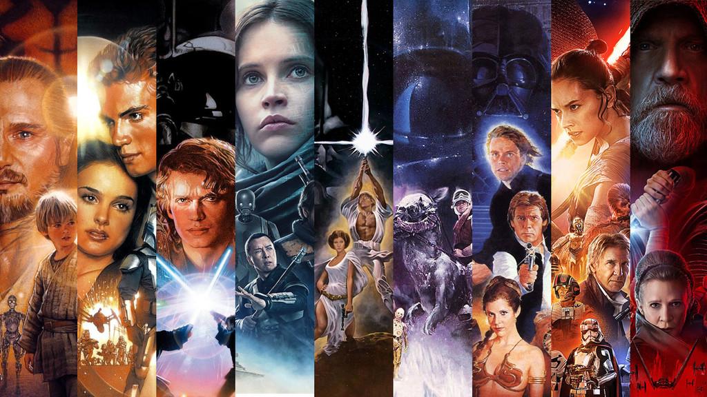 Permalink to Las 10 películas de 'Star Wars' en un increíble mega trailer de cinco minutos editado por el actor Topher Grace… y sin spoilers