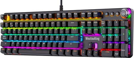 Discounted mechanical keyboard in Amazon Mexico