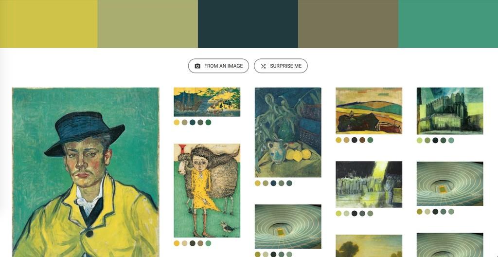 Window Y Google Art Culture Experiment Art Palette 2