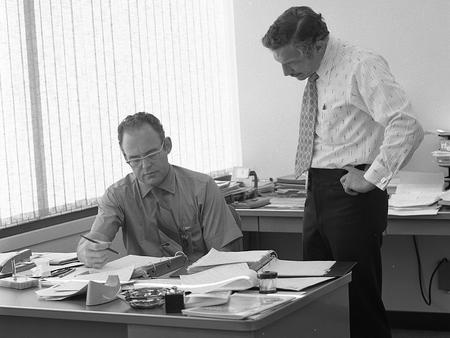 Gordon Moore y Robert Noyce