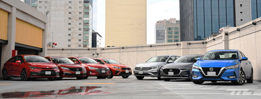 Comparison: the definitive duel of the seven compact sedans for sale in Mexico