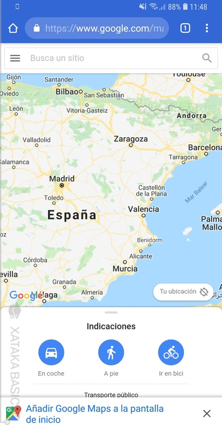 Webapp Google® Maps
