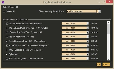 PyIDM, an open source download manager that makes it easy for us to download video playlists