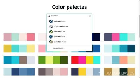 Propuestas Colores