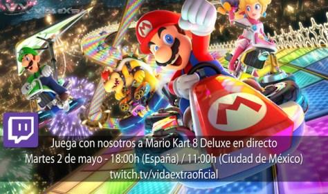 Mario Kart 8 Deluxe Directo