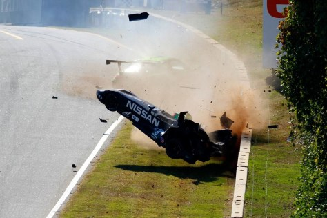 Deltawing crash