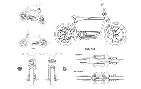 Harley Davidson Electric Scooter 2