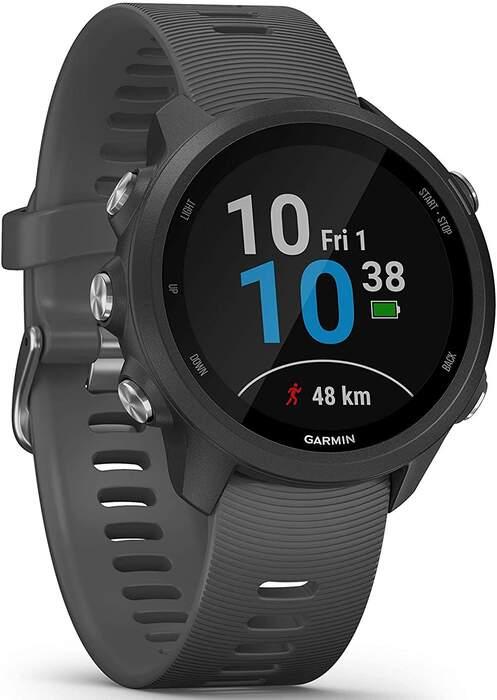 Garmin Forerunner 245 Smartwatch Gray - Pulse Oximeter, GPS, Stopwatch, Accelerometer, Bluetooth