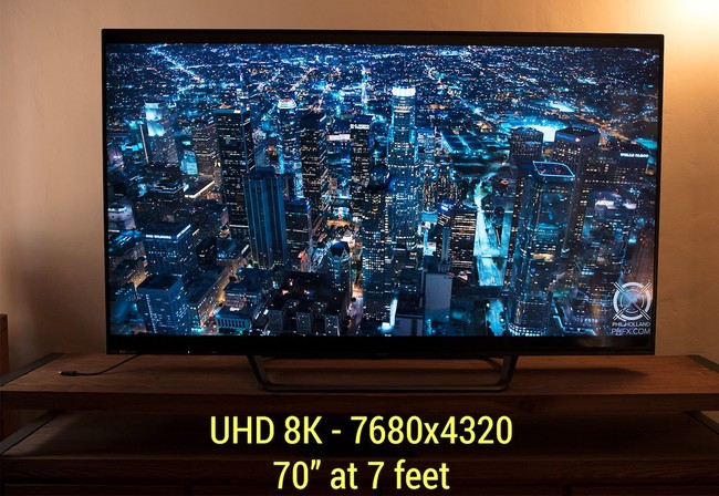 Red Y Sharp 8k Tv
