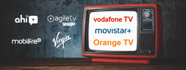 Comparativa de la televisión de Movistar, Vodafone, Orange, Yoigo, Virgin y otros: canales, precio(valor) y ventajas
