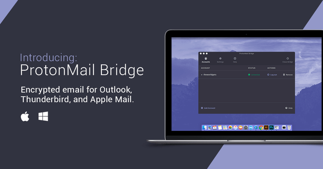 Protonmail Bridge Macos Facebook® Ad2 Im
