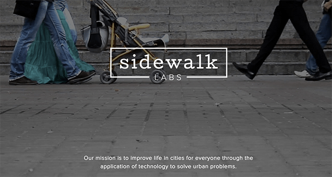 Sidewalks Labs