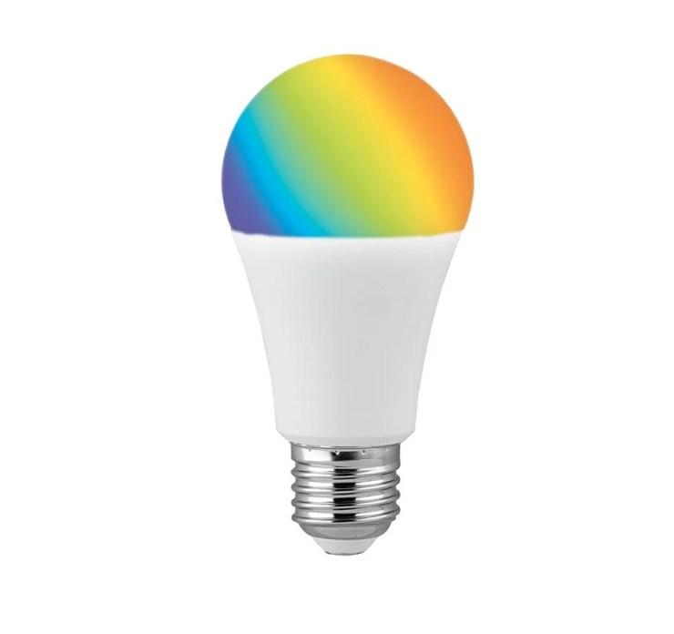 Bombilla con control de tonalidad , color y brillo