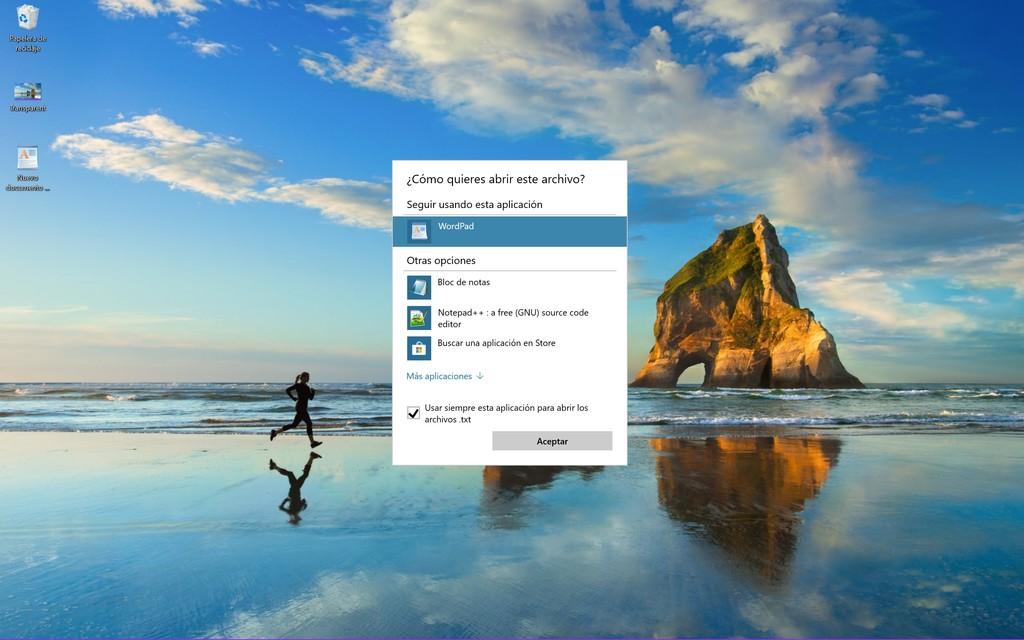 Otro gusano de Windows diez impide convertir programas predeterminadas asociadas a archivos