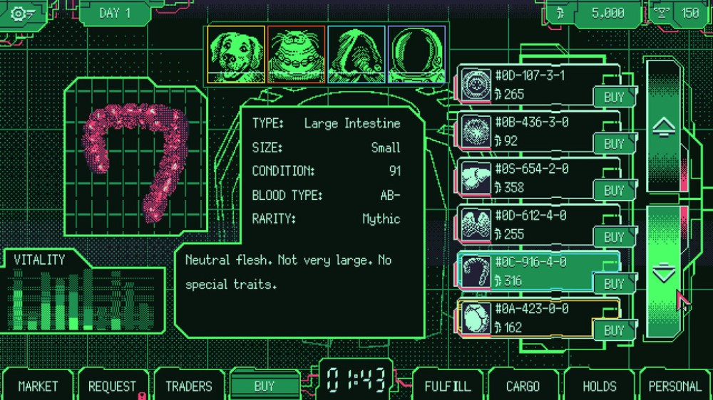 Acude a un mercado de compra-venta de órganos alienígena: así es el último juego que incluirá funciones para Kinect