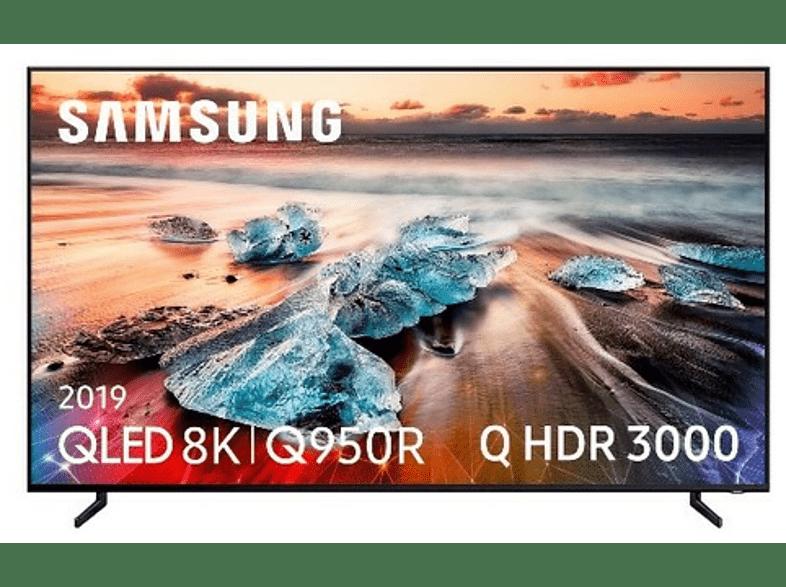 "TV QLED 55"" - Samsung QE55Q950, 8K, HDR Q 3000, Quantum Processor 8K, Direct Full Array Elite"