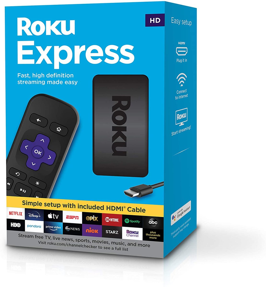 Roku Express HD Streaming Media Player (Importado)