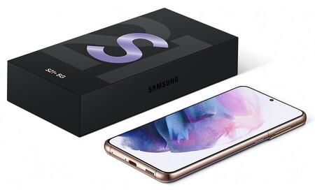 Samsung Galaxy S21 Sin Cargador Audifonos Caja