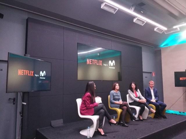 Netflix viene a Movistar® el 11(once) de diciembre(mes del año) con tres meses(del año) gratis: éstos son los precios junto a Movistar® Fusión
