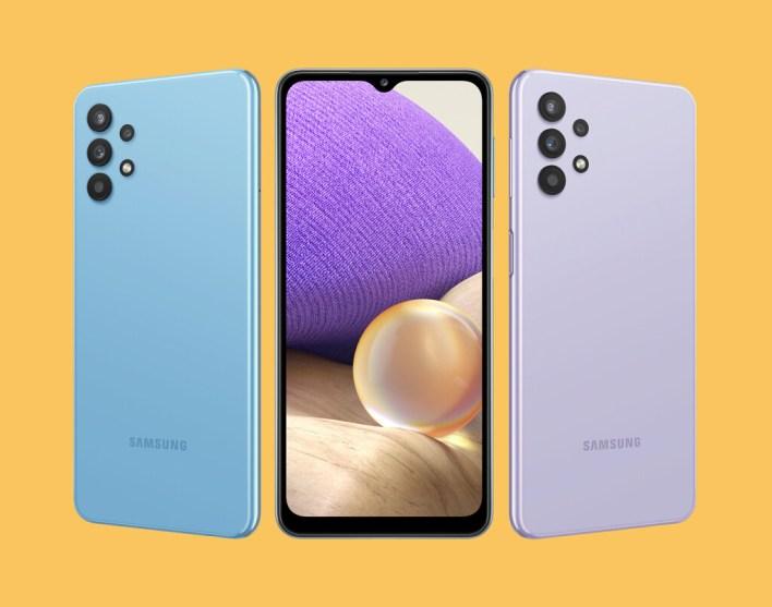 Samsung Galaxy A32 5G: una trasera única en un modesto gama media con 5G
