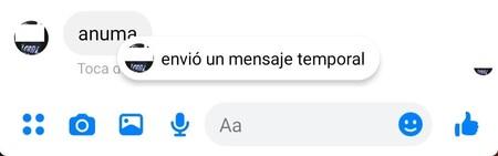 Que Son Mensajes Efimero Facebook Messenger