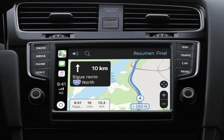Navegacion Carplay Google Maps